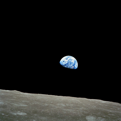 NASA-Foto AS8-14-2383; Earthrise