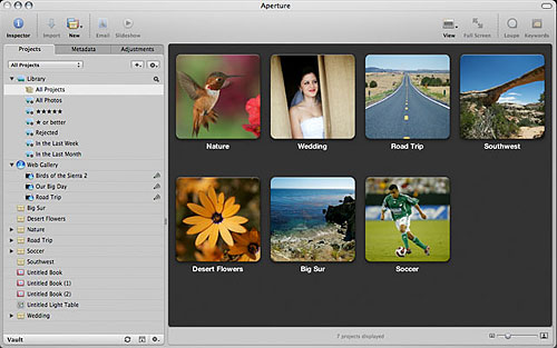 Screenshot Aperture v2.0