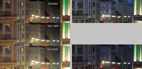 Foto - Empfindlichkeitsvergleich D700 und D3