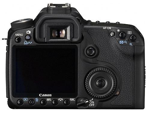 Foto der Rückseite der EOS 50D, vermutlich echt