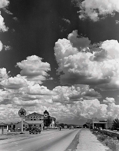 Route 66, Arizona, 1953; Foto Andreas Feininger, LIFE Magazine © Time Inc.