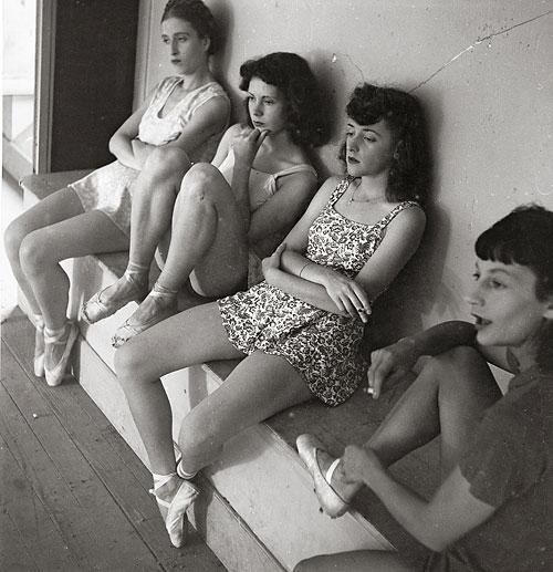 Foto Theo Frey, Tänzerinnen, Genf, 1941