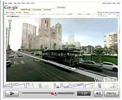 Screenshot Google Street View