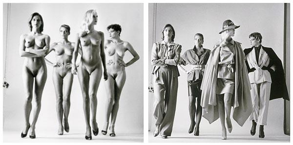 Foto von Helmut Newton - Sie kommen, 1981