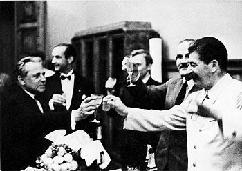 Foto von Hoffmann und Stalin