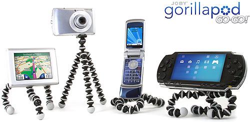 Foto des Gorillapod Go-Go! von Joby
