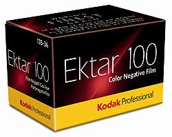 Packungsfoto Professional Ektar 100 von Kodak