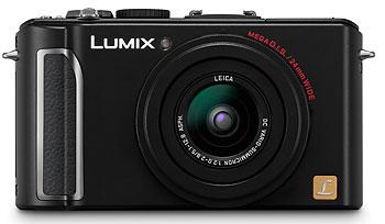 Foto der Lumix DMC-LX3