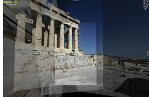 Screenshot Photosynth, Parthenon