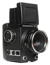 Foto der Rolleiflex SLX