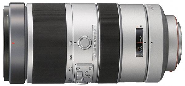 Foto des Sony 4,0-5,6/70-400 G SSM