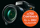Sticker - Sony Cashback alpha 700 - 200 Euro