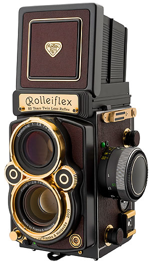 Foto der Rolleiflex 2,8 FX