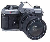 Foto einer Vivitar-Spiegelreflex