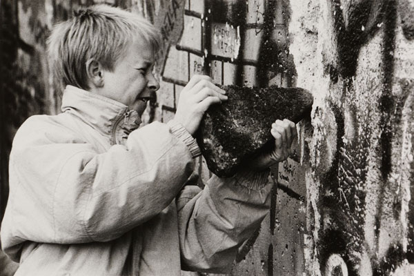 Foto: Kai Olaf Hesse, Maueroeffnung, 1989