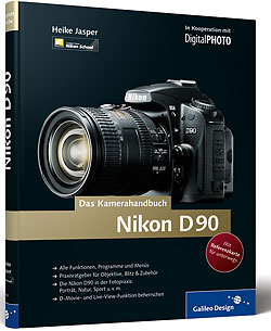 Titelabbildung Nikon D90. Das Kamerahandbuch