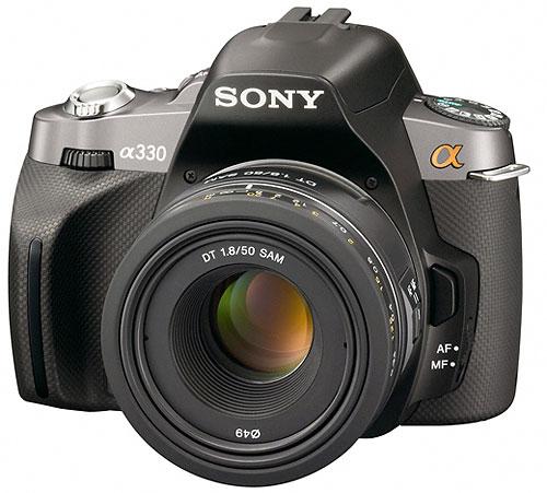 Foto der α330 von Sony