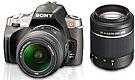 Foto der alpha 380 von Sony