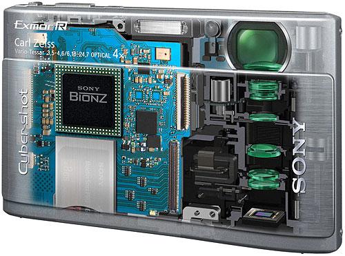 Phantombild der Cyber-shot DSC-TX1 von Sony