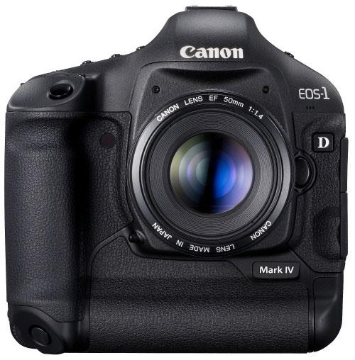 Foto der EOS-1D Mark IV von Canon