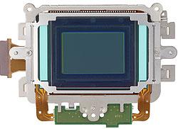 Foto vom Sensor der EOS-1D Mark IV von Canon