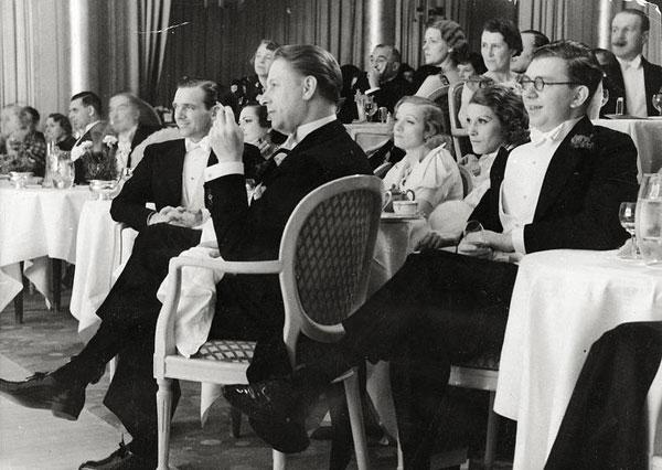 Foto Erich Salomon: Marlene Dietrich und Douglas Fairbanks jr., um 1937
