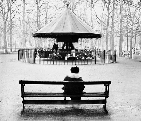 Foto Robert Häusser: Tuilerien, 1953
