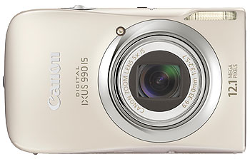 Foto der Digital Ixus 990 IS von Canon