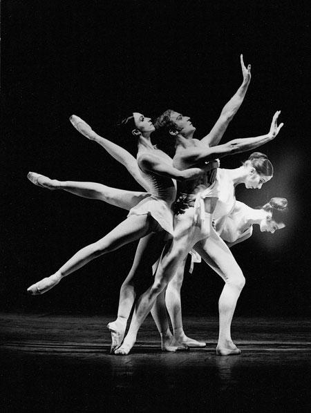 "Foto Hannes Kilian; Stuttgarter Ballett: ""Apollon Musagéte"", 1970"