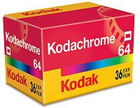Packungsfoto Kodachrome 64