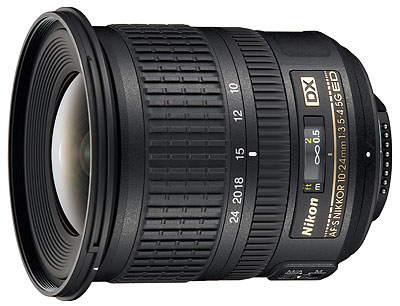Foto des AF-S DX Nikkor 3,5-4,5/10-24 mm G ED von Nikon