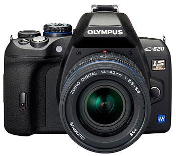 Foto der E-620 von Olympus