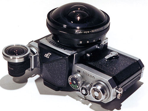 8/8 mm Nikkor an Nikon F