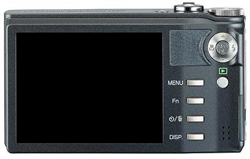 Foto der Rückseite der CX1 von Ricoh