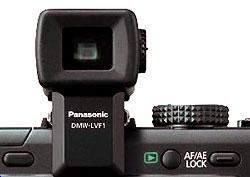 Foto vom LiveView-Aufstecksucher DMW-LVF1E von Panasonic