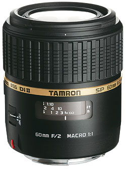 Foto des SP AF 2/60 mm Di II Macro von Tamron