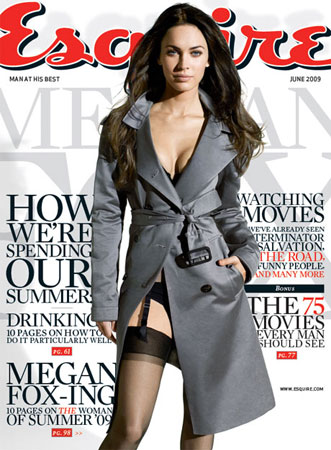 Megan Fox auf Esquire-Titel