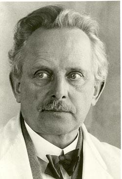 ein Portrait von Oskar Barnack
