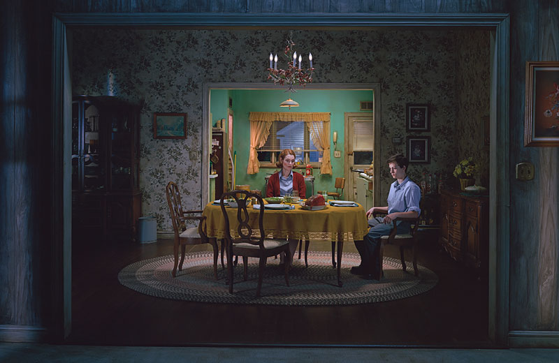 Gregory Crewdson: Untitled (Sunday Roast), 'Beneath the Roses', 2005