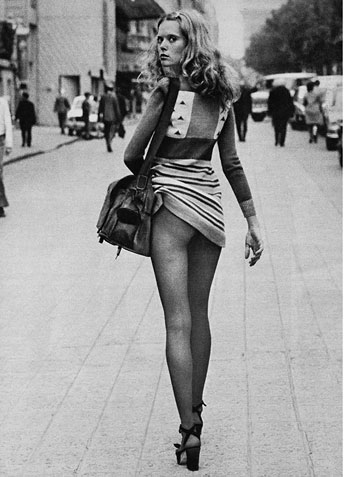 Fashion, Dépêche Mode, Paris 1971 © Alice Springs