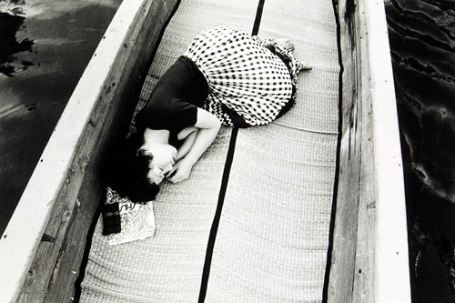 Foto Nobuyoshi Araki. Aus der Serie: My Wife Yoko, 1968-1976