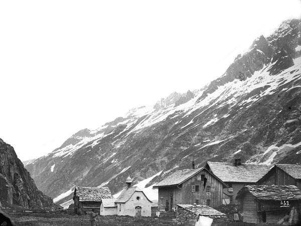 Foto Jules Beck: Göscheneralp, 1883