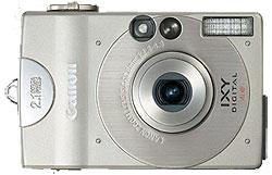 Foto der ersten Digital Ixus von Canon