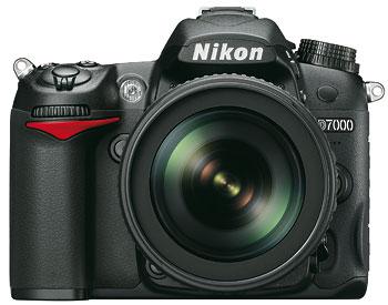 Foto der D7000 von Nikon