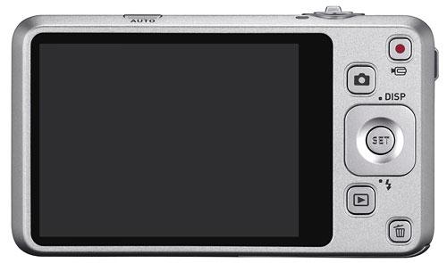 Foto der Rückseite der Exilim Zoom EX-Z800 von Casio