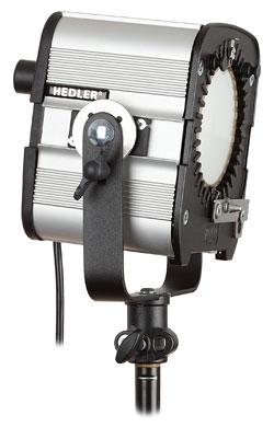 Foto der Videoleuchte DX 15 von Hedler Systemlicht