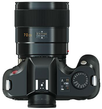 Foto der S2 von Leica von oben