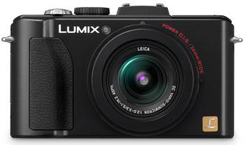 Foto der Lumix DMC-LX5 von Panasonic