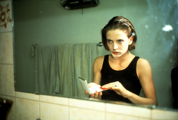 Foto Nan Goldin: Amanda in the mirror, Berlin 1992