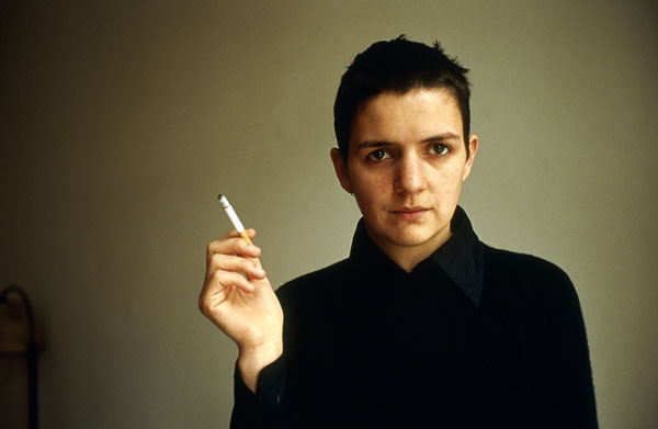 Foto Nan Goldin: Siobhan with a cigarette, Berlin 1994
